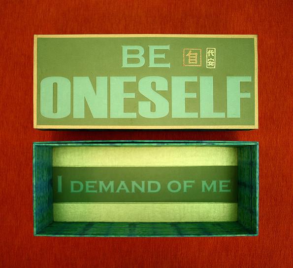 Be Oneself