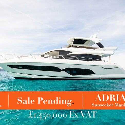 Sale Pending - Sunseeker Manhattan 66 ADRIANO