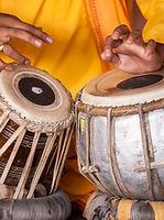 Tambores tradicionais indianos