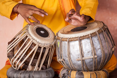 Traditionelle indische Drums