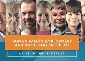 Family and work: the situation of the European Union.