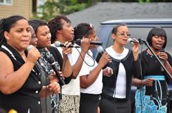 Latoya signing with Women of Praise