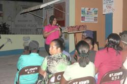 Sharing my testimony in Jamaica