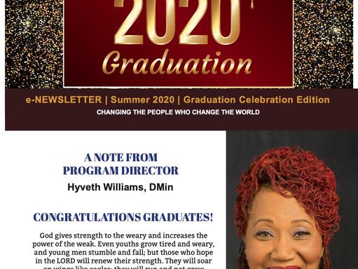 August 2020 Graduation Edition