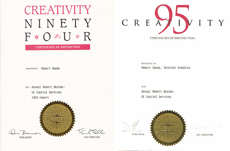 Creativity Magazine Awards