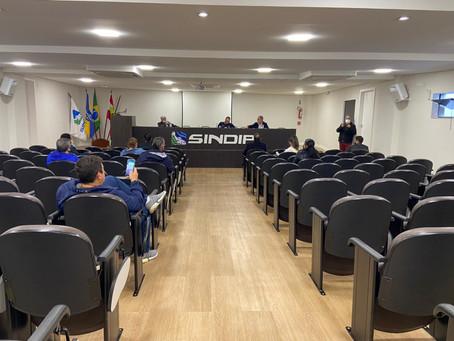 Após mal estar ocorrido dia 17, quando o secretário não pode comparecer, reunião é realizada hoje!
