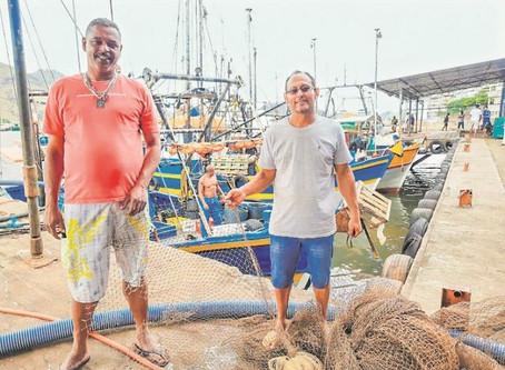 Pescadores mudam redes para proteger fundo do mar