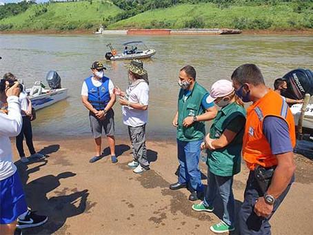 8º Distrito Naval realiza ação de Combate ao Lixo no Mar nos estados de São Paulo e Paraná