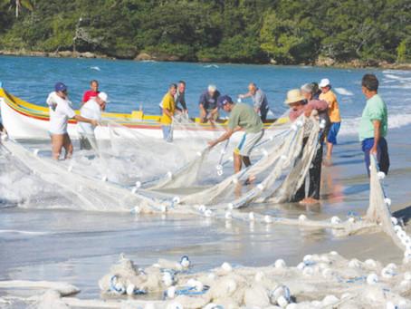 Pesca da tainha no Estado de SC teve início neste sábado