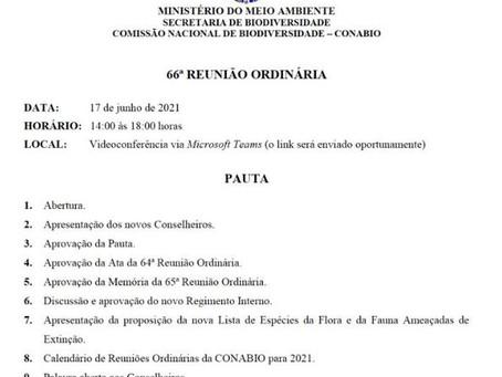 ATENÇÃO SETOR PESQUEIRO! Conabio vai discutir nova lista de espécies ameaçadas, quinta-feira dia 17.