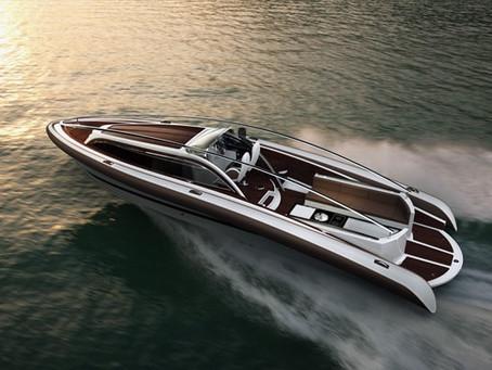 O belo Amare Yacht Concept de Dawid Dawod