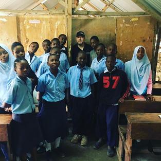 Mombasa Kenya teaching children