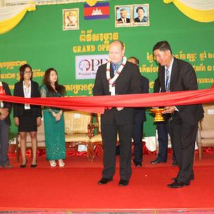 PRC grand opening Cambodia