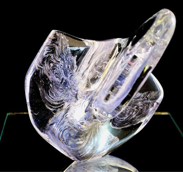 Amethyst in Ice