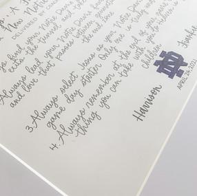 Hand Lettered Notre Dame Wedding Speech by Letters from Elliott.JPG