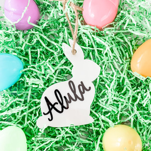 Personalized Hand Lettered Easter Basket
