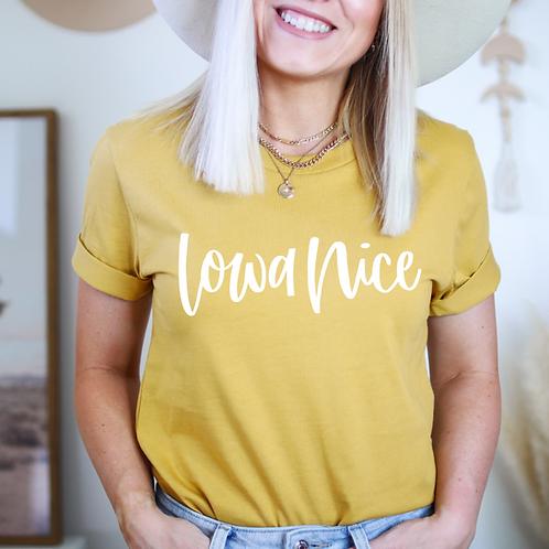 Iowa Nice Short-Sleeve Unisex T-Shirt