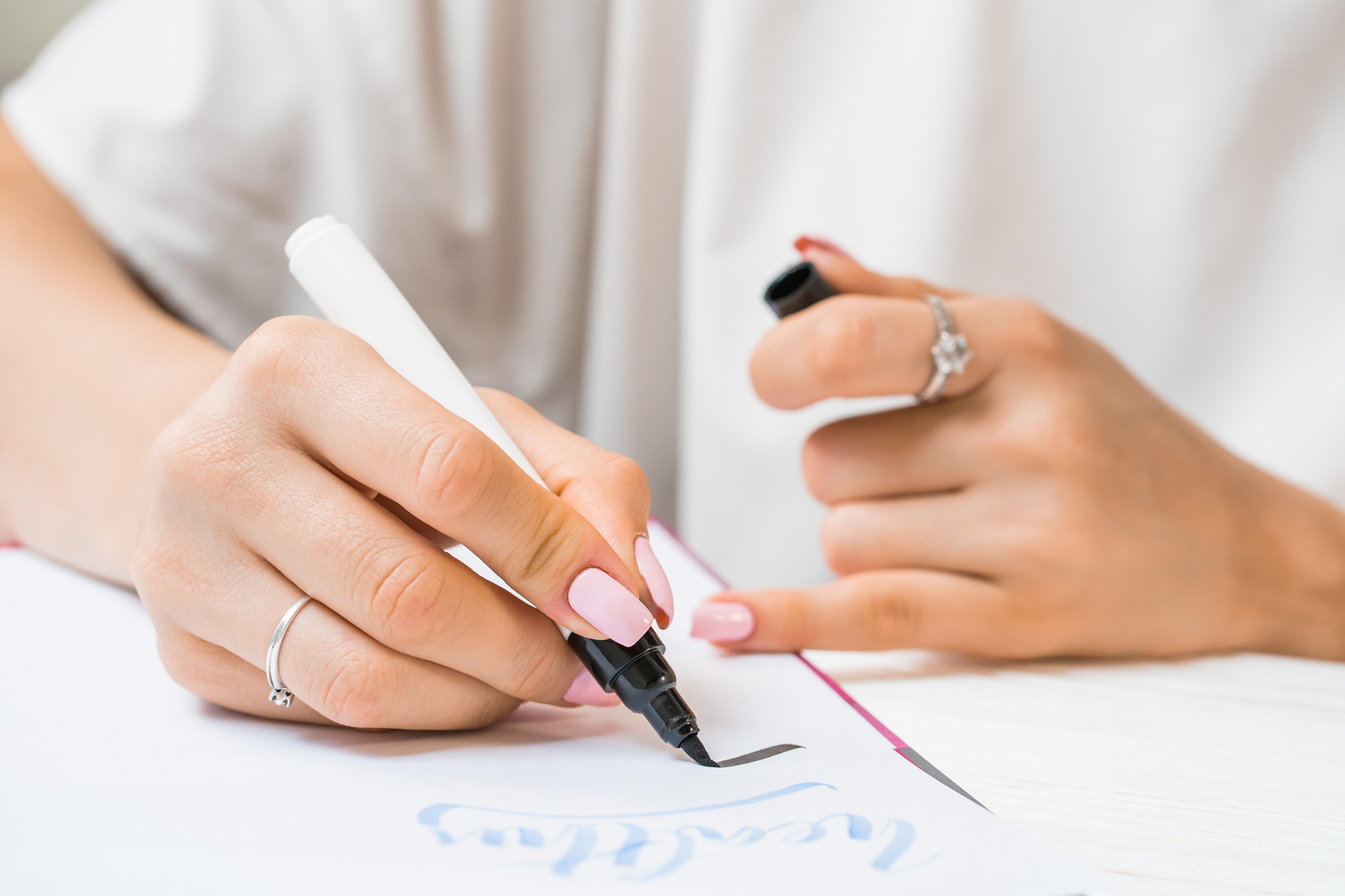 Online Brush Lettering Workshop