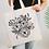 Thumbnail: Flower Doodle Illustration Tote Bag