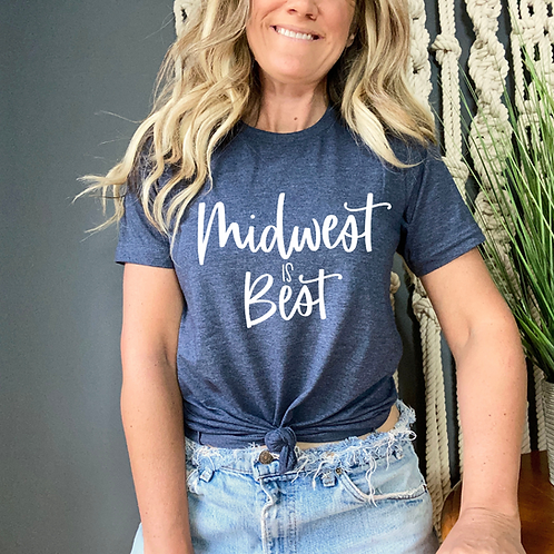 Midwest is Best Short-Sleeve Unisex T-Shirt