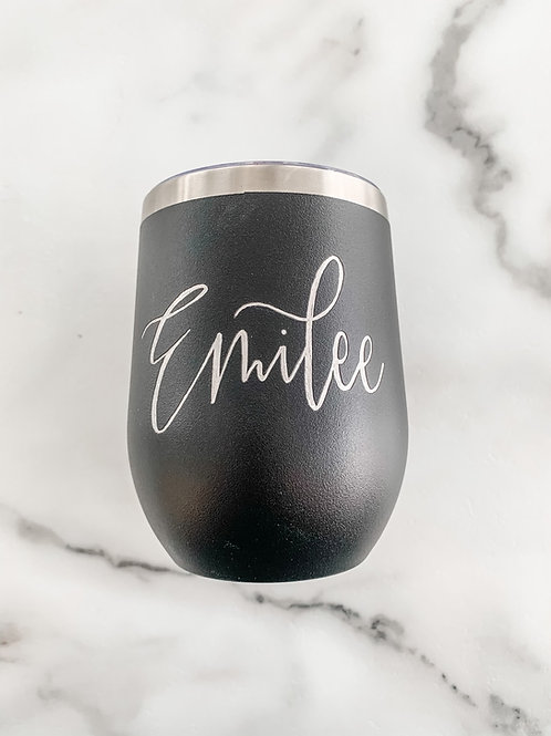 Personalized Engraved Stainless Steel 12 oz. Tumbler
