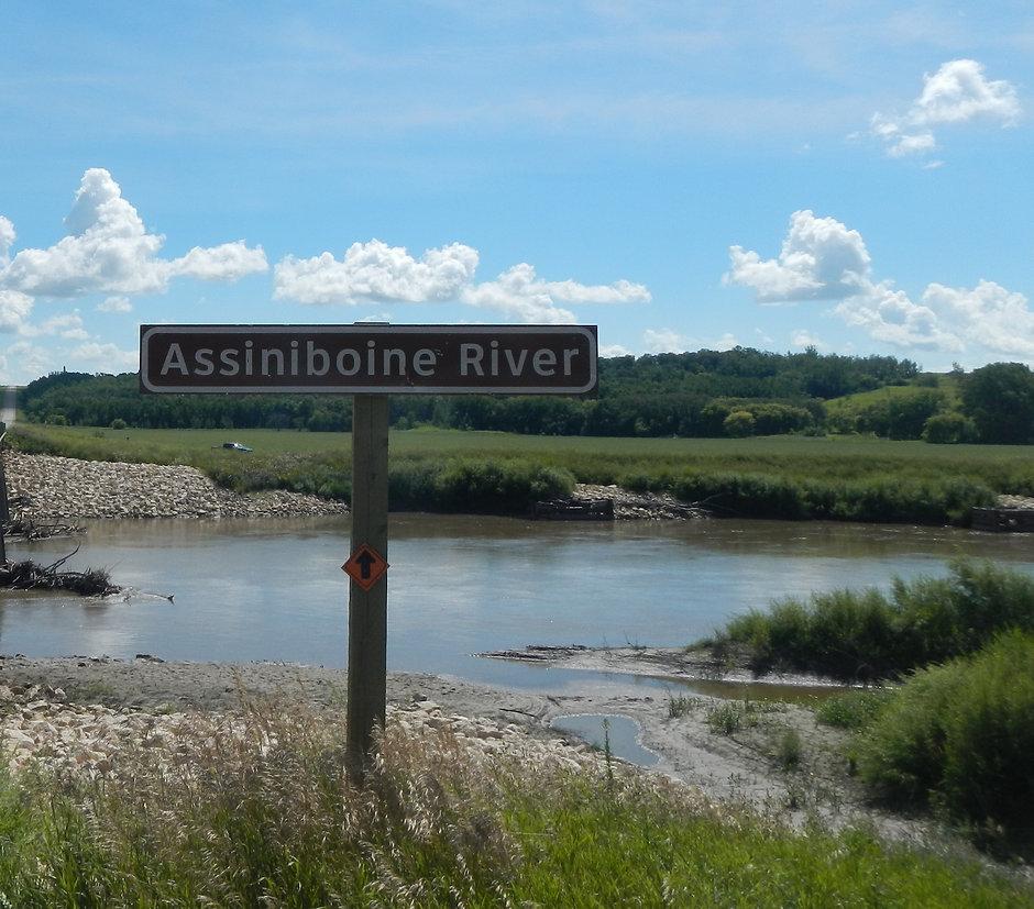 alongside the assiniboine river