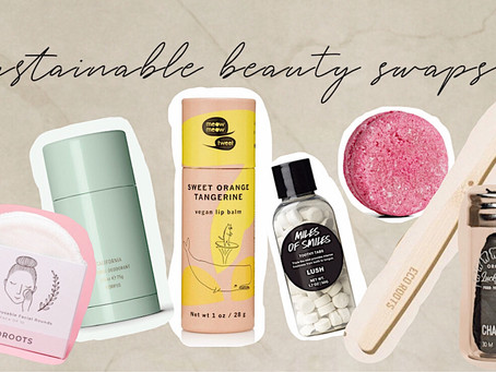 Sustainable Beauty Swaps