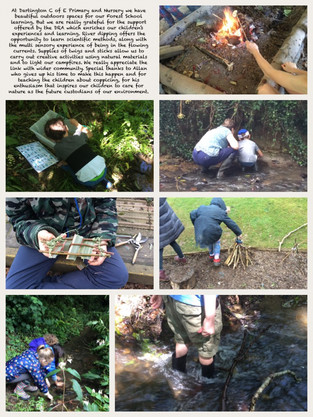 DRA supports Forest School at Dartington Primary