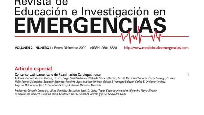 1º Consenso Latinoamericano de Reanimación Cardiopulmonar