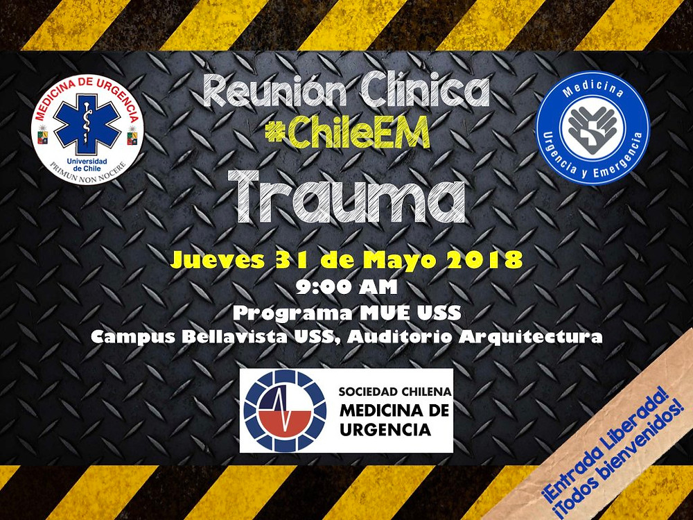 Reunión Clínica #ChileEM Mayo: Trauma
