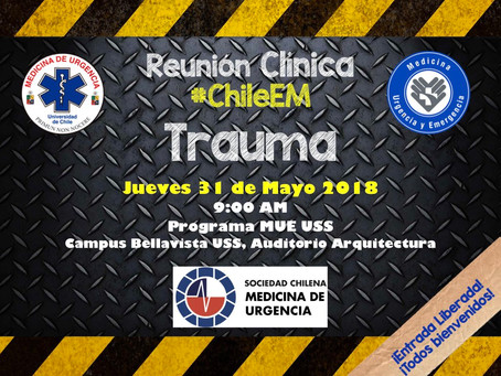 Reunión Clínica #ChileEM Mayo