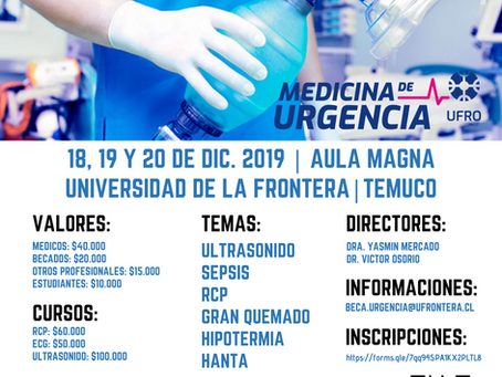 II Jornadas Urgenciología: La primera frontera