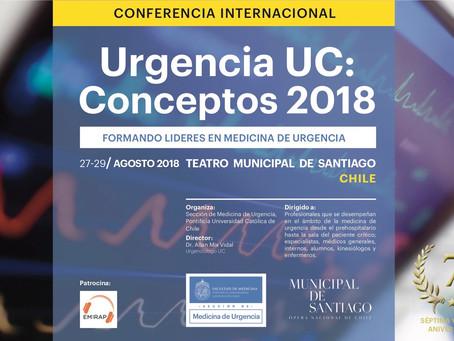 Se viene Urgencia UC: Conceptos 2018!