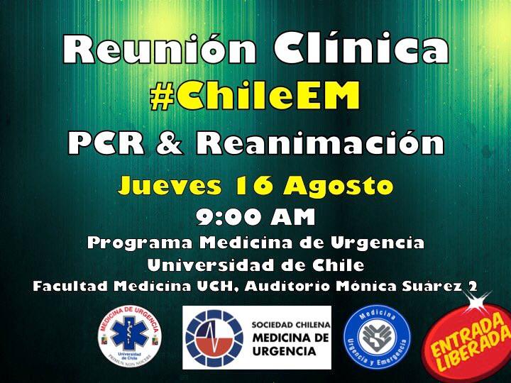 2ª reunión clínica #ChileEM 2018