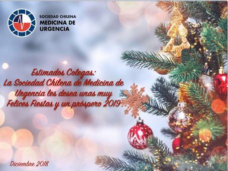 Feliz Navidad les desea SOCHIMU!