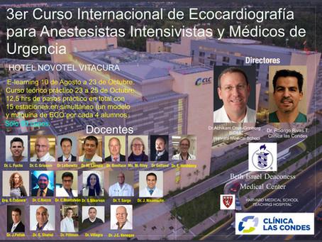 Curso Internacional Ecocardiografía Trans-torácica