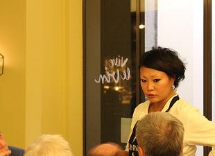 Julie Gilmaire chez Vive le vin