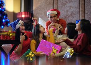 Merayakan Natal Malam Natal di Garden Palace