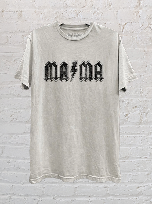 Mama Tee (rock font)