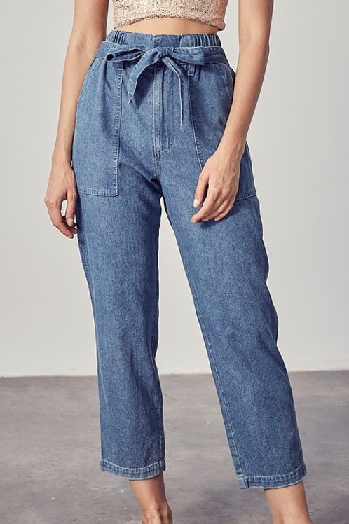 JANIS DENIM BOTTOMS