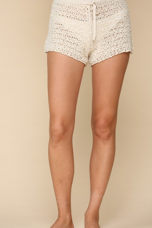 Tulum Crochet Shorts