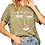 Thumbnail: Olive Abstract Face Tee