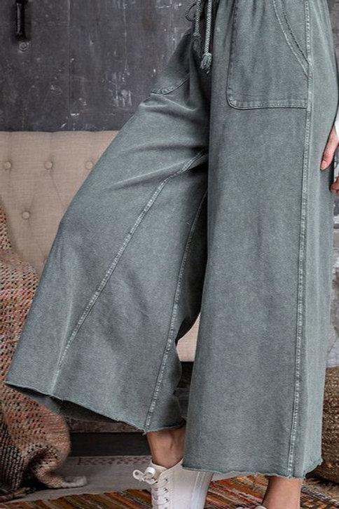 Terry Wide leg pants
