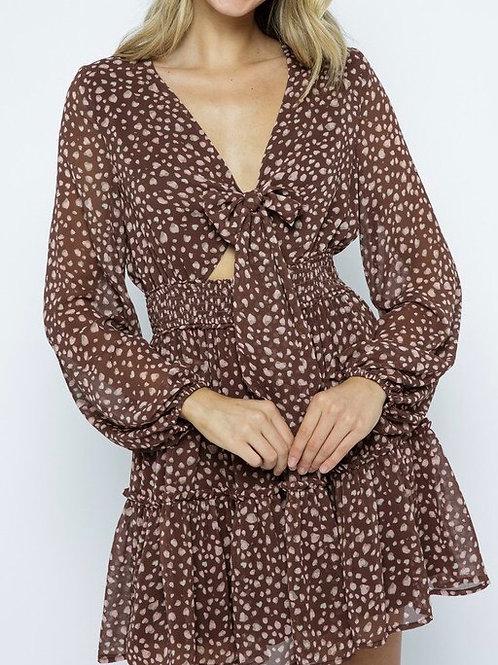 KIANA CHIFFON DRESS