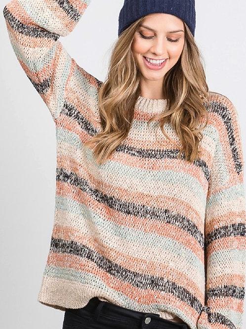 Anna Stripe Sweater