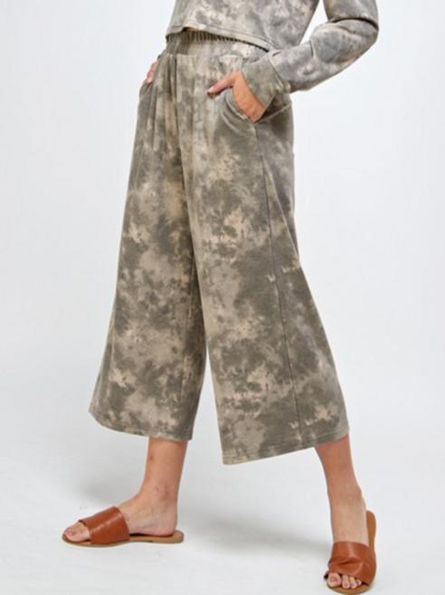 Olivia Tie Dye wide pants