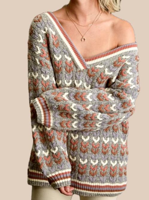Christine V-neck Pullover