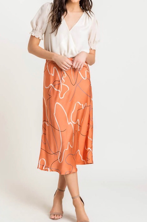 Abstract Linear Skirt