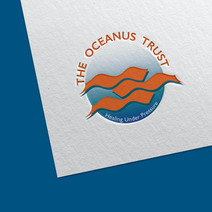 """Logo for """"The Oceanus Trust"""" Non profit organization under water diving / healing company"""