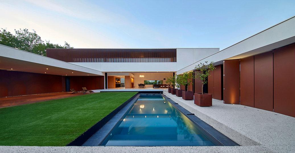 Villa CM à Gradignan (HPL Architecture)